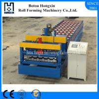 Best Automatic Glazed Tile Roll Forming Machine With Elegant Appearance wholesale