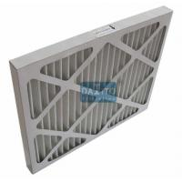 China Galvanized Prime High Flow Air Filter Non Woven Cloth Filter Media 95% Efficiency on sale