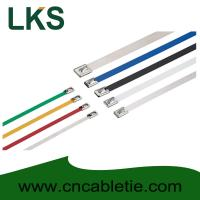 Best 7.9*550mm 316/304/201 grade Ball-lock stainless steel building cable tie wholesale