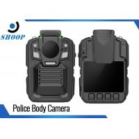 Best Night Vision Body Worn Video Cameras Police With Charging Dock 3900mAh wholesale