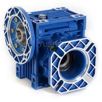 China Italian designed NRV Series worm gear speed reducers on sale