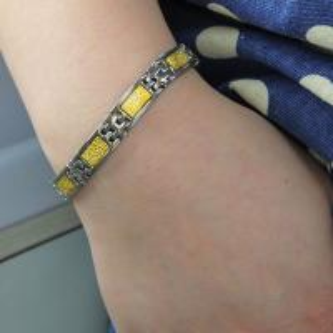Best 2015 Hot Sale Stainless Steel Bracelet, Fashion Negative Ion Bracelet wholesale