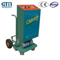 Best Air Conditioning Service Car Refrigerant Recovery Machine with 2 Wheels wholesale