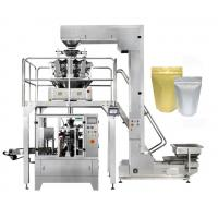 China 8 Station Stand Up Pouch Packaging Machine , Zipper Pouch Doypack Packing Machine on sale
