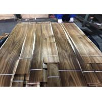 Cheap Sliced Cut Natural Acacia Wood Veneer Panels For Cabinets Nonuniform Color for sale