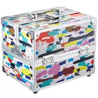Buy cheap 2018 new design make up case,enough compartments,beauty color,convenience from wholesalers