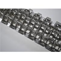 Stainless Steel Honeycomb Wire Mesh Conveyor Belt Flat Wire Belt Customized Size
