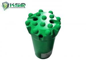 China 89mm T51 Flat face button bits For mining Quarrying Threaded Rock Drilling Button Bit on sale
