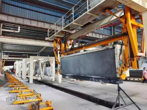 Best H4810mm Grouping Crane AAC Machine Overturn Table wholesale