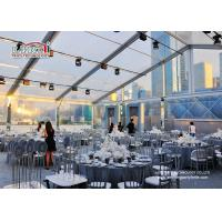 Best Waterproof Outdoor Event Tents Large Capacity 300 Guest Transparent wholesale