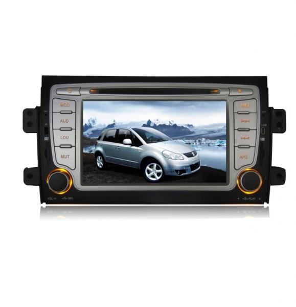 Suzuki SX4 Car GPS Navigation System Multi Language Music