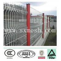 Best high security pvc coated fence with triangle bends wholesale