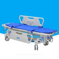 China Mobile Metal Stretcher With Wheels , Folding Durable Emergency Stretcher Bed on sale