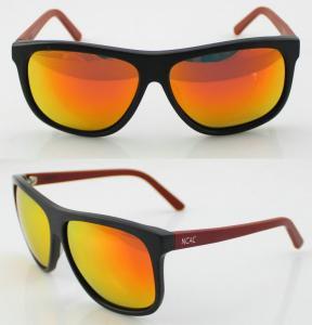 Best Unisex Fashion Acetate Frame Sunglasses , Scratch Resistant wholesale