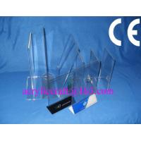 Best Acrylic table stand menu holder, PMMA card holder menu stand for hotel supplies wholesale
