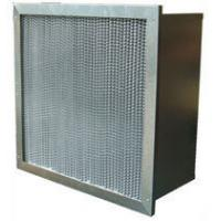 Best Washable High Temp Mini Pleat Hepa Air Filter High Efficiency With Pleated / Clapboard wholesale