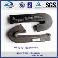 Best Low Carbon Steel Plain Railway Cast Iron Rail Shoulder For Elastic Clip wholesale