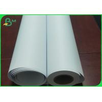 Best 80G High Whiteness CAD Plotter Paper Roll 310 / 610 / 914 MM Width FSC Approved wholesale