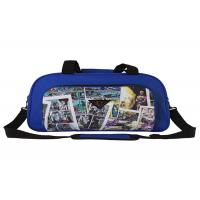 China 600D Polyester Cartoon Big Size Foldable Travel Bag , Travel Suit Bag For Man Woman on sale