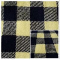 Best 100% Polyester Plaid Printed Coral Fleece Fabric wholesale