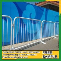 Best Grafton Concert metal construction control barrier Temporary cheap used crowd safety wholesale