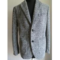 China Men's blazer ,wool/acrylic knitted fabric , casual style on sale