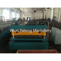 Best 3KW Glazed Tile Roll Forming Machine , Industrial Corrugated Roofing Sheet Forming Machine wholesale