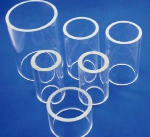 China Quartz glass tube on sale