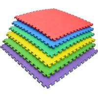 China 2cm Non Toxic Play Mat / Soft EVA Interlocking Foam Floor Mats Color Customized on sale