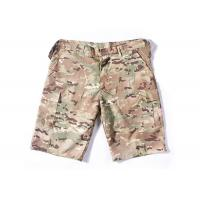 Best Summer Tactical Quick Dry Cargo Shorts , Cool Camo Cargo Shorts For Men wholesale