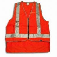 Best Reflective Vest, Made of 100% Polyester, Customized Specifications are Accepted wholesale