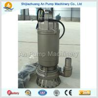 China hot sales stainless steel impeller submersible sewage pump on sale