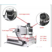 Best mini 3020 200w cnc router with rotary axis wholesale