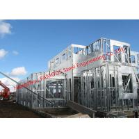 Best Galvanized H- Beam Steel Structure Framing Systems For Workshop or Villa House wholesale