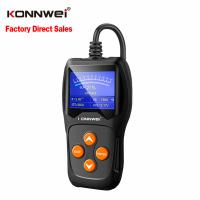 China Electrical Automotive Car Battery Tester 2.4 Inch Screen Size ABS Housing Material on sale