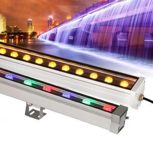 China High Power Outdoor Building Lights , LED Aluminum Strip Lights Energy Saving on sale