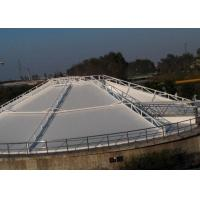 Best PVC White Tensile Membrane Structures Size Customized For Septic Tank OEM wholesale