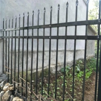 China 1800mm X 2400mm Garrison Tubular Spear Top Metal Fence on sale