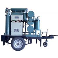 Best Protable ZJL Dielectric Oil Purifier with Trailer,Insulating Oil Filtration machine wholesale
