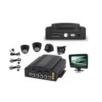 China SD HDD WIFI GPS Tracking 3G / 4G 4 Camera Car DVR Support AHD Camera on sale
