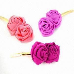 Best Flower Hair Clip/Pin Slider for Kids, Fashionable, Kawaii Barrettes wholesale