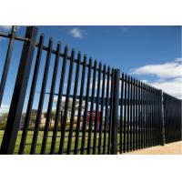 Cheap China supplier - hot sale good quality garrison fence/zinc steel fence for sale
