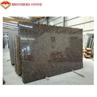 China Polished And Flamed Granite Stone Tiles , Natural Baltic Brown Granite on sale