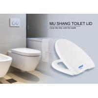 Best MS brand V shape pp toilet seat with soft close hinge wholesale