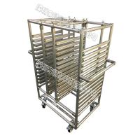 Best Stainless Steel Pipe Rack Custom Structural Easy Assemble For Electronic Equipment wholesale