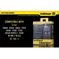 Best AC DC 12V 10W Nitecore I2 Charger For Ni-MH / Ni-Cd Battery wholesale