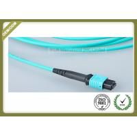 Best OM3 12 Core Optical Fiber Jumper For Industrial Automation / Control Bus System wholesale