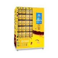 China Drop Sensor Self Service Ordering Kiosk For Lucky Box Double Layer Glass on sale