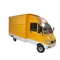 China Outdoor Mobile Food Cart Trailer For Street High Visibility LED Tail Light Signal System on sale