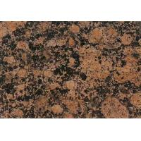 China Polished Baltic Brown Big Granite Slab on sale